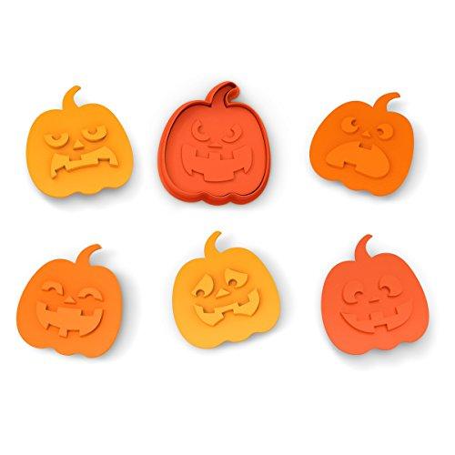 Halloween-Snack-Muster Orange (Halloween-snack)