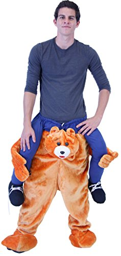 (Piggyback Ride On BEAR Costume (Plus))