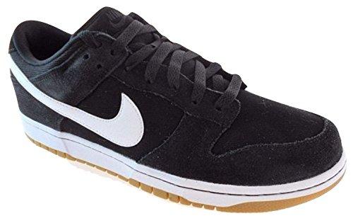 NIKE - Dunk Low Herren, Schwarz (001, Black/White), 41 EU D(M) - Schwarz Nike Dunk