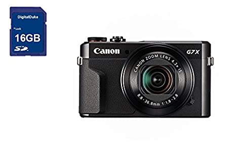 Canon PowerShot G7 X Mark II Digital Camera photographe kit