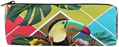 Bonipe Tropical Toucan Oiseaux Imprimé floral Trousse Pochette Sac d'école papeterie Pen Box Zipper Cosmétique Sac de maquillage | Sale Online