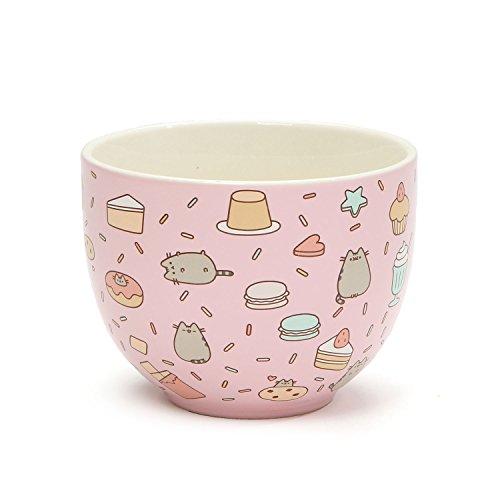 GUND Pusheen Our Name Is Mud Treat Bowl, Stoneware, multicoloured, 13 x 13 x 10 cm (Gift-schlamm Spielzeug)