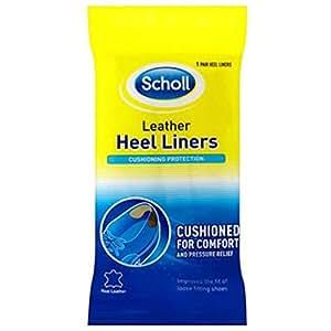 Scholl Heel Leather Liners