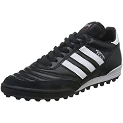 adidas - Mundial Team, Scarpe Da Calcio unisex, Nero (Black / Running White Ftw / Red), 41 1/3 EU
