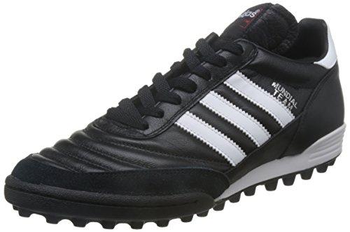 adidas Originals Mundial Unisex-Erwachsene Hohe Sneakers, Schwarz (Black/Running White Ftw/Red), 40 EU