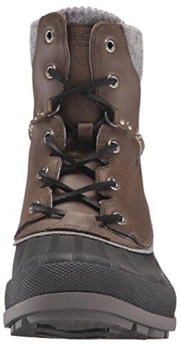Sperry - Cold Bay Boot W/Vibram, Stivali a metà gamba con imbottitura pesante Uomo Grey