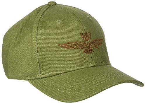 Aeronautica Militare Herren Baseball Cap HA960CT2188 Verde (Verde Militare), Einheitsgröße