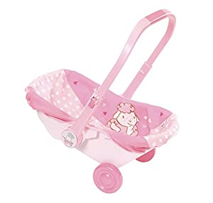 Zapf Baby Annabell Travel Seat Doll Travel Seat - Accesorios para muñecas (Doll Travel Seat, 3 año(s), Rosa, 46 cm, Chica, 46 cm)