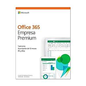 office 365 empresa: Microsoft Office 365 Empresa Premium – Software para PC y Mac, 1 Usuario, Suscri...