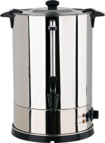 YATO Profi Glühweinkessel 15 Liter 1800 Watt Edelstahl Glühweinkocher Glühweinautomat Heißgetränkeautomat Heiwasserkessel Wasserkocher Glühweintopf