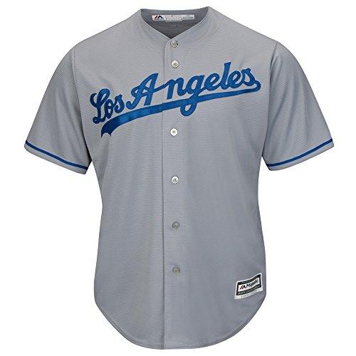 Majestic Los Angeles Dodgers Cool Base MLB Trikot Road Grau XL