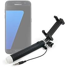Exclusivo Palo Selfie (Selfie-Stick) extensible para Smartphones Samsung Galaxy A5 | Galaxy J5 | Galaxy S5 | Galaxy S6 | S7 edge - DURAGADGET