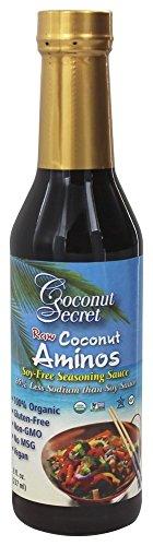 Coconut Secret Coconut Aminos, Soja-freie Gewürz Sauce (237 ml) -