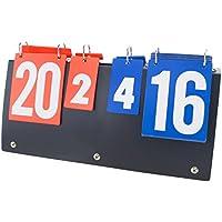 GOGO Portable Scoreboard Flip per pallavolo/basket/tennis da tavolo (7set, 31punti)