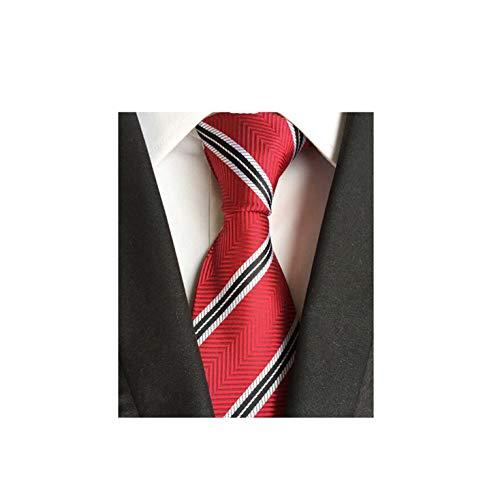 Dusk Fort Klassische Silk Mens Krawatten 8Cm Plaid & gestreifte Krawatten für Herren Business-Hochzeiten, 16 - Salbei Grüner Farbstoff