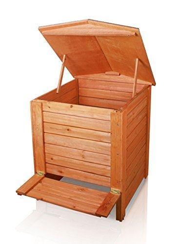 Lacewing Composteur en bois à charnières - 288L