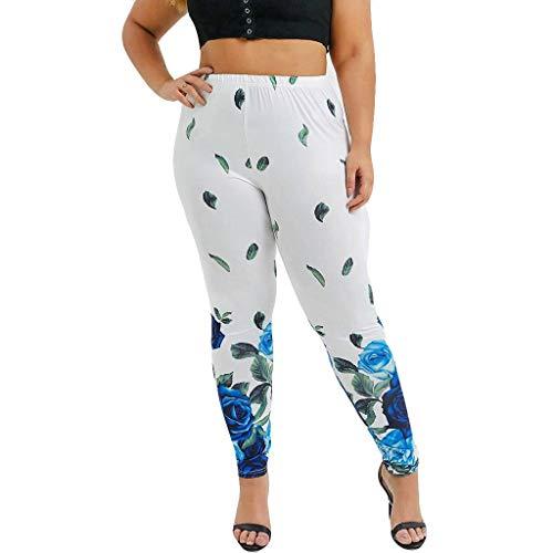 Epig Frauen Hohe Taille Yoga Hosen Plus Size Sport Hosen Drucken Leggings -