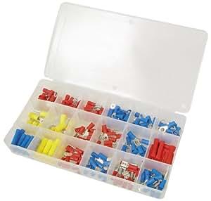 295 Kabelschuhe Sortiment Box für Querschnitte 0,5 - 6 mm² Kabel
