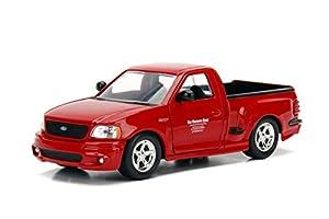 Jada Toys99574r Ford F-150 SVT Lightning Brian Fast Furious - Coche  en miniatura, Rojo, 20 cm