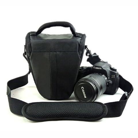 Etui imperméable noir & Housse anti pluie pour appareils photo