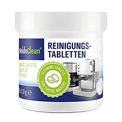 Cleaning Tablets for Coffee and Espresso Machine - Cleaner Suitable for Automatic Coffee Makers and Capsule Machines