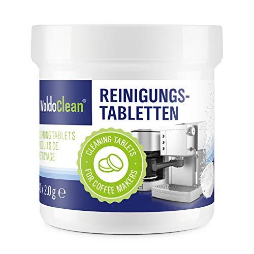 Reinigungstabletten für Kaffeevollautomaten Kaffeemaschine & Espressomaschinen - 40x Tabletten a 2g kompatibel mit Jura, Delonghi, Bosch, Siemens Seaco, uvm.