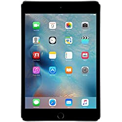 "Apple iPad mini 4, 7,9"" met WiFi, 128 GB, 2015, Spacegrijs"