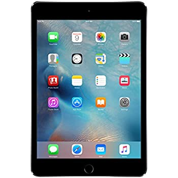 Apple iPad mini 4 128GB Gris - Tablet (Apple, A8, M8, Flash, 2048 x 1536 Pixeles, IPS)