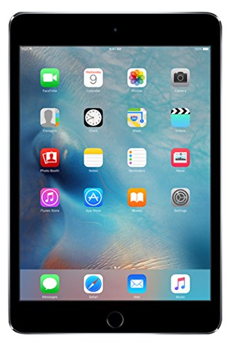 Apple iPad mini 4 - Tablet (A8, M8, Flash, 2048 x 1536 Pixeles, IPS, 128GB, Gris (Space Grey))