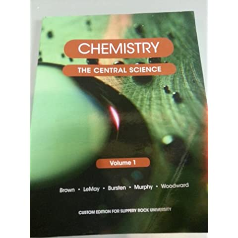 Chemistry: The Central Science [Vol 1] (Slippery Rock University)