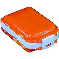 Pillendose mit 7 Fächern, tragbar, in Koffer-Form preisvergleich bei billige-tabletten.eu