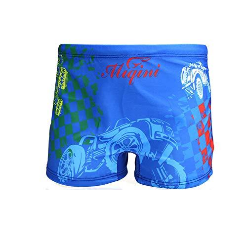 Lazzon Bañador Niños Boxer Natación Traje Baño