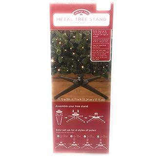 Holiday-Time-Weihnachtsbaumstnder-aus-Metall-fr-Bume-bis-zu-75-m-hoch