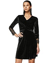 FabAlley Women's A-Line Mini Dress