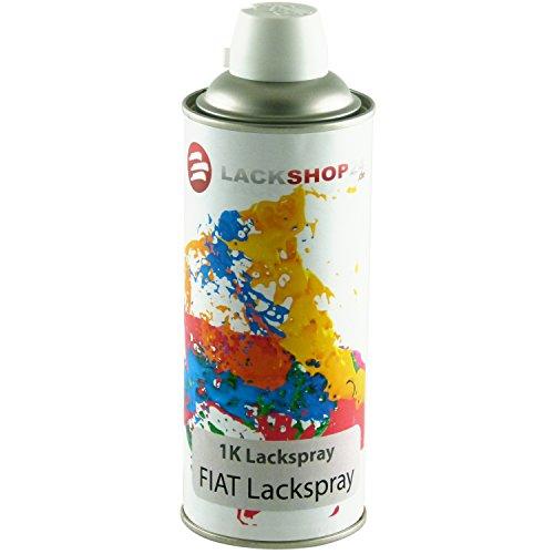 Preisvergleich Produktbild 1K-Sprühlack für alle Fiat-Modelle | Schnelle Anwendung & professionelles Ergebnis | Autolack Spray-Dose in individueller Farbe | 400ml Wunsch-Lack | Lackspray für Lack-Schäden & Auto-Tuning