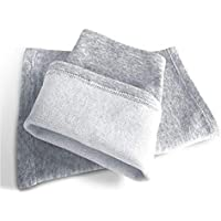 HUXBHGA Ginocchia calde Forte stiramento traspirante Caldo Freddo Protezione per il ginocchio Sportiva Unisex, S