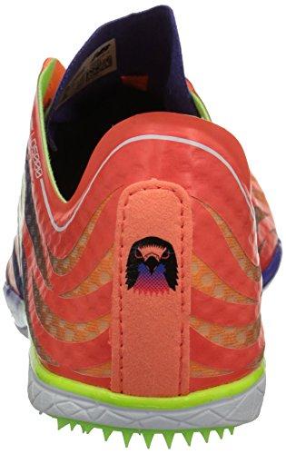 New Balance Women's LD5000V3 Track Spike, Orange/Purple, 10 B US Orange/Purple