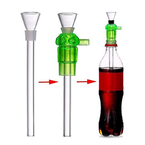 F-denghui, Kunststoff Flasche Pipe Shisha Shisha Rohre Sanitär Rauchen Filter Shisha Zubehör Flasche Conversion Tools, tabakfrei und nikotinfrei (Zubehör Flaschen Für Shisha)