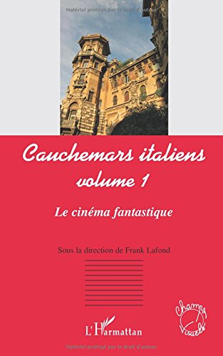 Cauchemars Italiens (Vol 1) le Cinema Fantastique