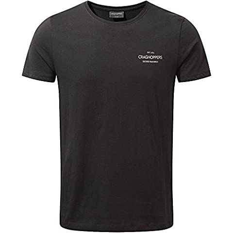 Craghoppers Mens Eastlake Short Sleeve Wicking Graphic T Shirt