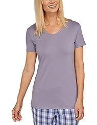 Schiesser Mix & Relax Shirt 1/2 Arm - Haut de pyjama - Femme