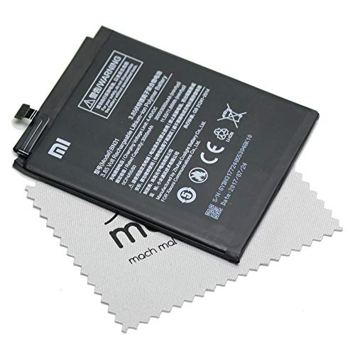 Batería para Xiaomi Original BN31 para Xiaomi Mi 5X con mungoo pantalla paño de limpieza