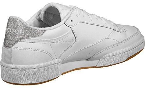 Reebok Club C 85 Diamond, Chaussures de Fitness Femme Blanc