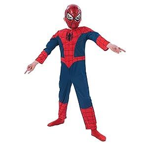 Rubies - Disfraz de Marvel Spider-Man para niños, talla M (I-886920M)
