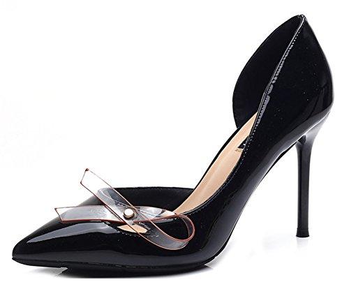 Dorsay Cinturino Nero Donna Aisun Pompe Nodo Elegante Caviglia ZBq0REq