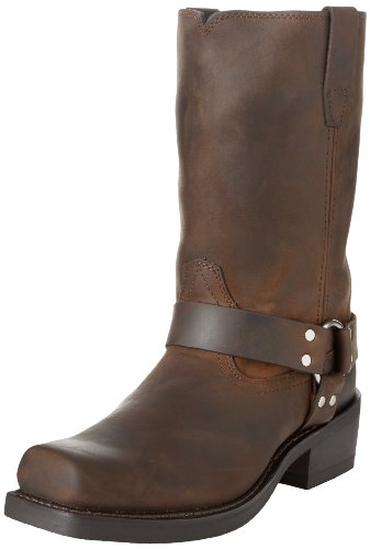 Durango DB594, Herren Biker Boots, braun - Braun, Used-Optik - Größe: 41,5 EU (Durango Leder)
