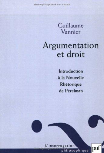 Argumentation et droit