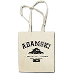 "Urban Backwoods Adamski VENUSIAN ""J"" Scout Squadron Hipster Bag – OVNI George Alien UFO Ship TR3B Mufon George King Close Encounters Sighting"