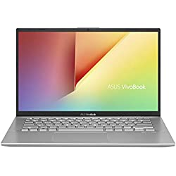 "Asus VivoBook S S412UA-EK026T PC Portable 14"" FHD (Intel Core i3-7020U, RAM 8Go, 128Go SSD, Windows 10 Home S) Clavier AZERTY Français"