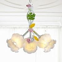 BBSLT La testa di lampada creatività pastorale 3 ristoranti Sala da Pranzo in camera da (Famiglie Luce Ciondolo Pendente)